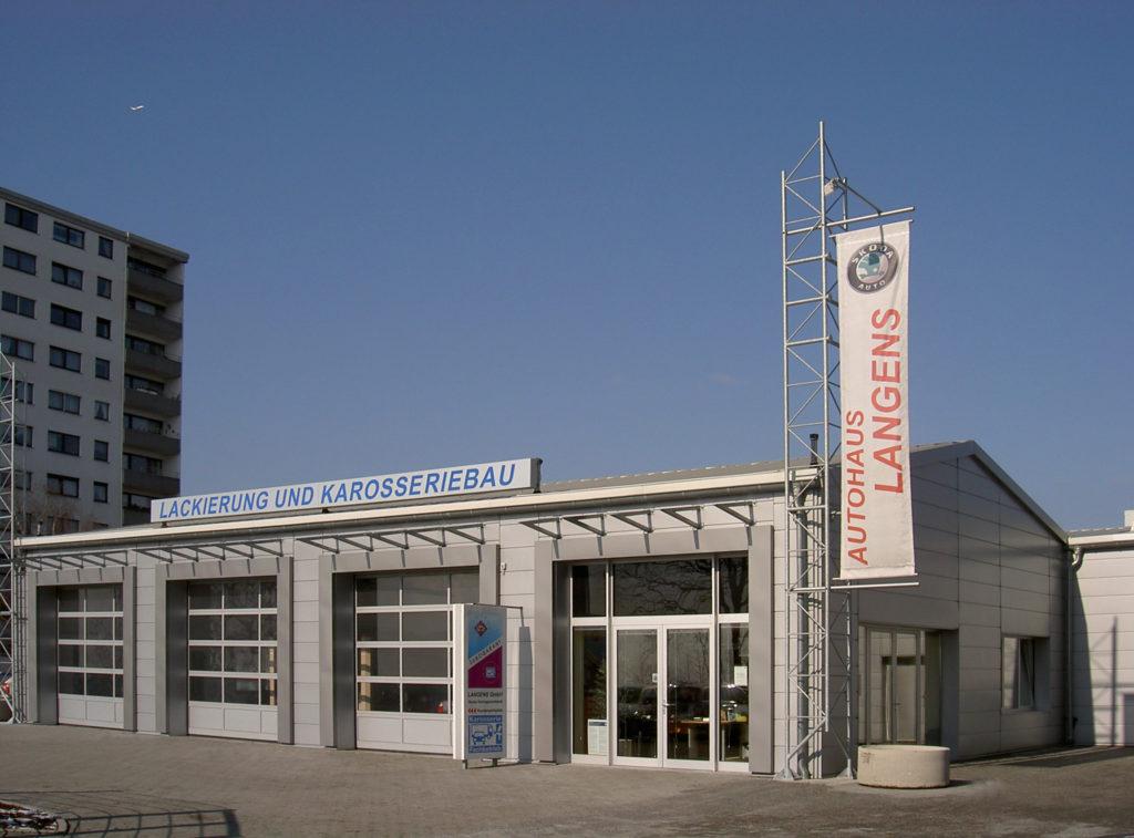 Fassadenerneuerung ŠKODA Werkstatt 0