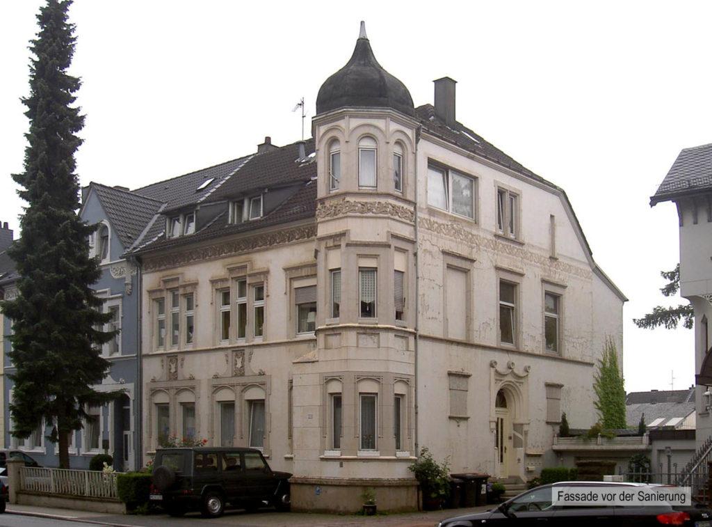 Sanierung gründerzeitliches Mehrfamilienhaus 1