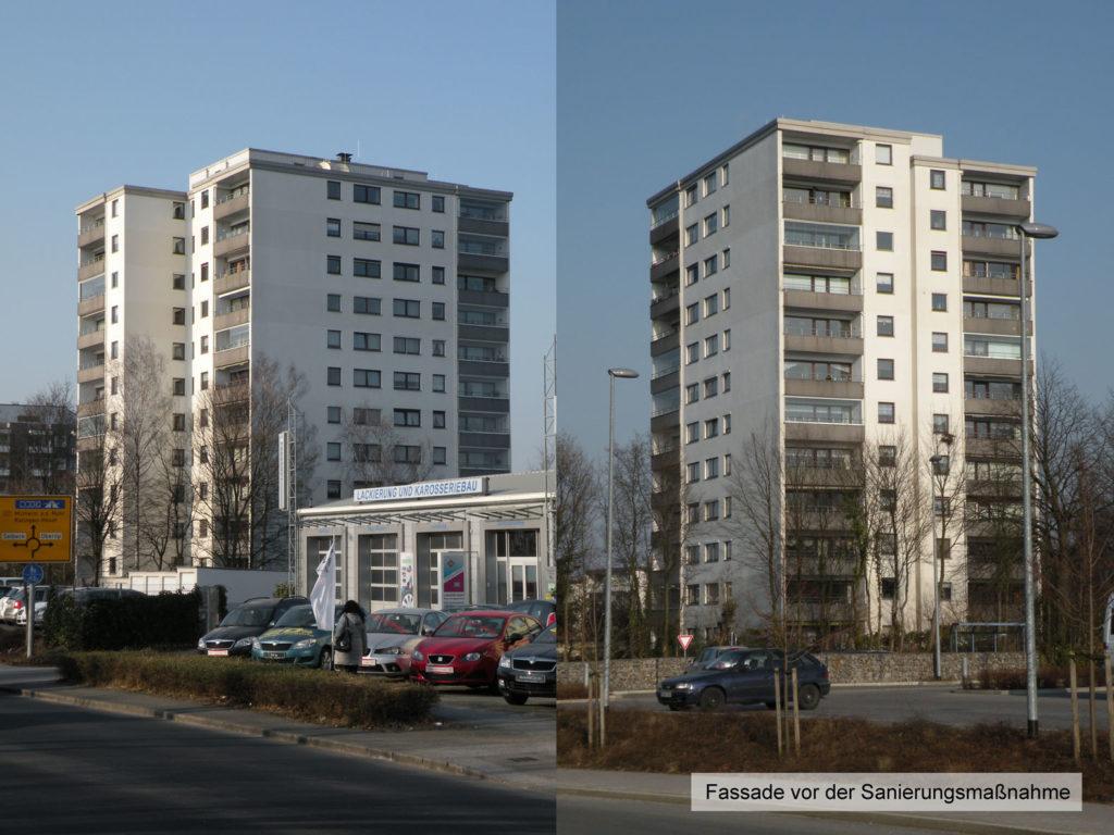 Fassadensanierung Hochhaus 2