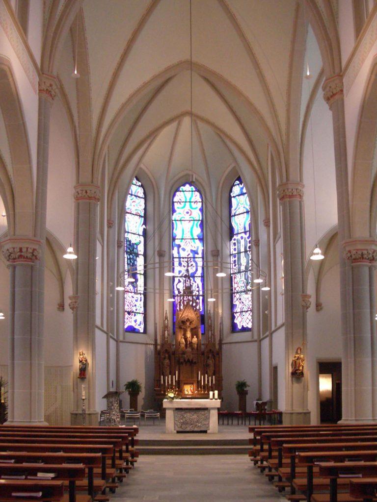 Innenputzsanierung Pfarrkirche St. Suitbertus 0