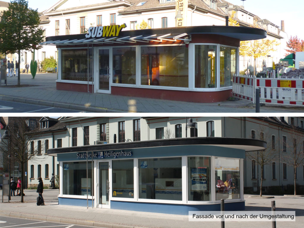 Umbau Kundencenter 2