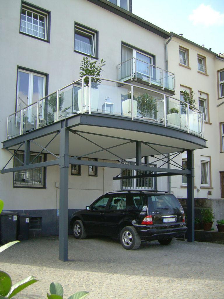 Neubau Balkonanlage 0