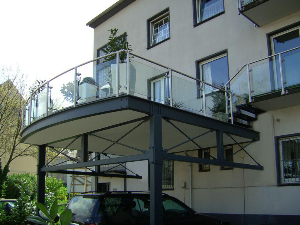 Neubau Balkonanlage 1