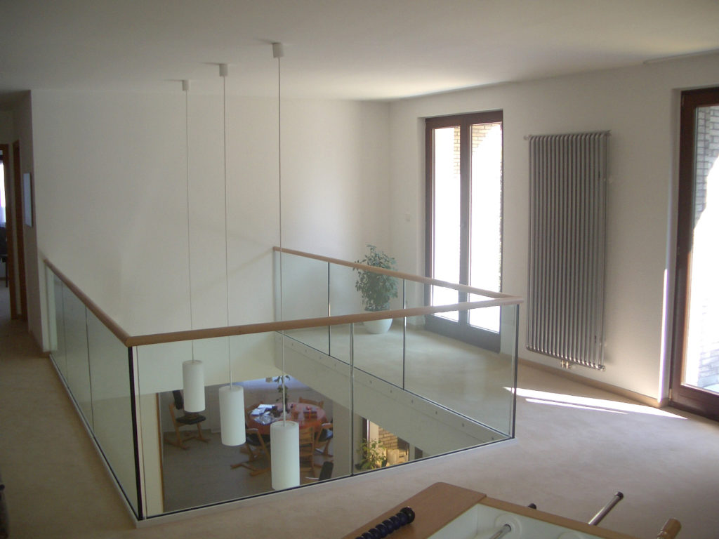 Umbau Einfamilienhaus mit Praxis 1