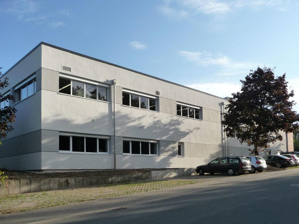 Erweiterung Produktionshalle Horstmann GmbH 1