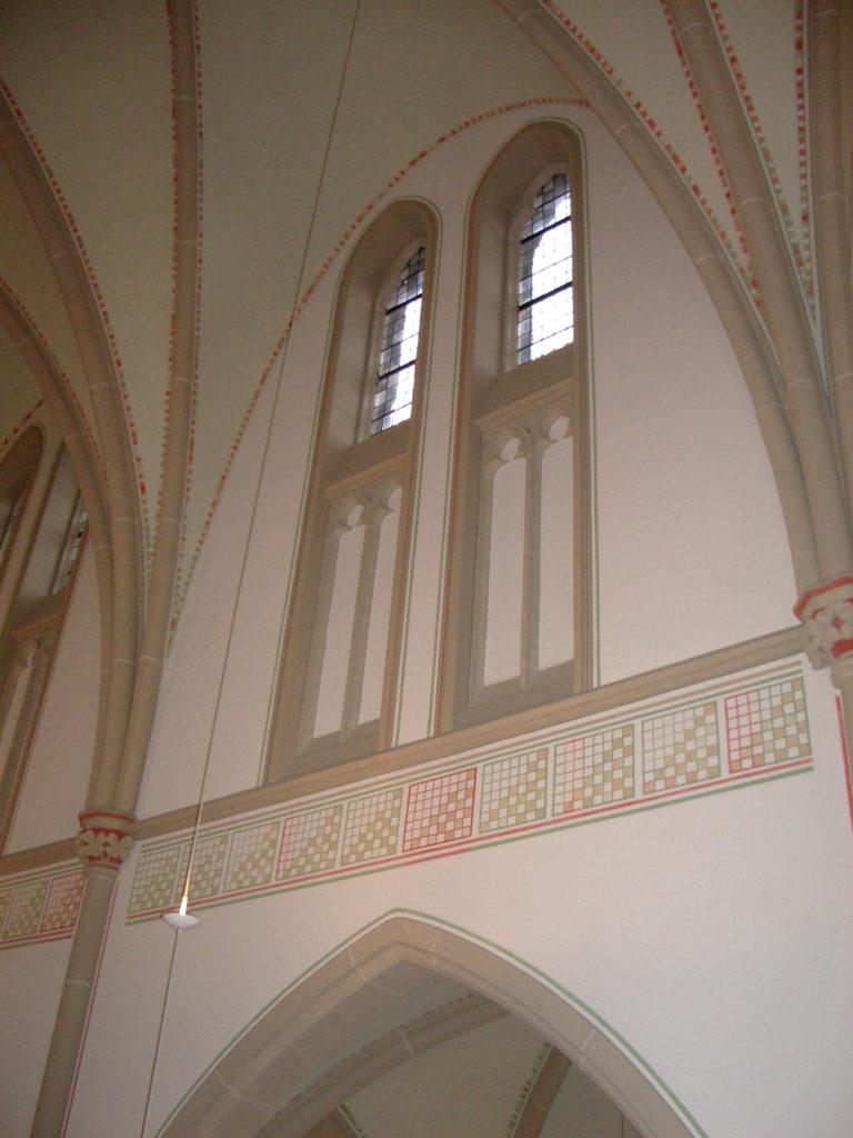 Innenputzsanierung Pfarrkirche St. Suitbertus 4