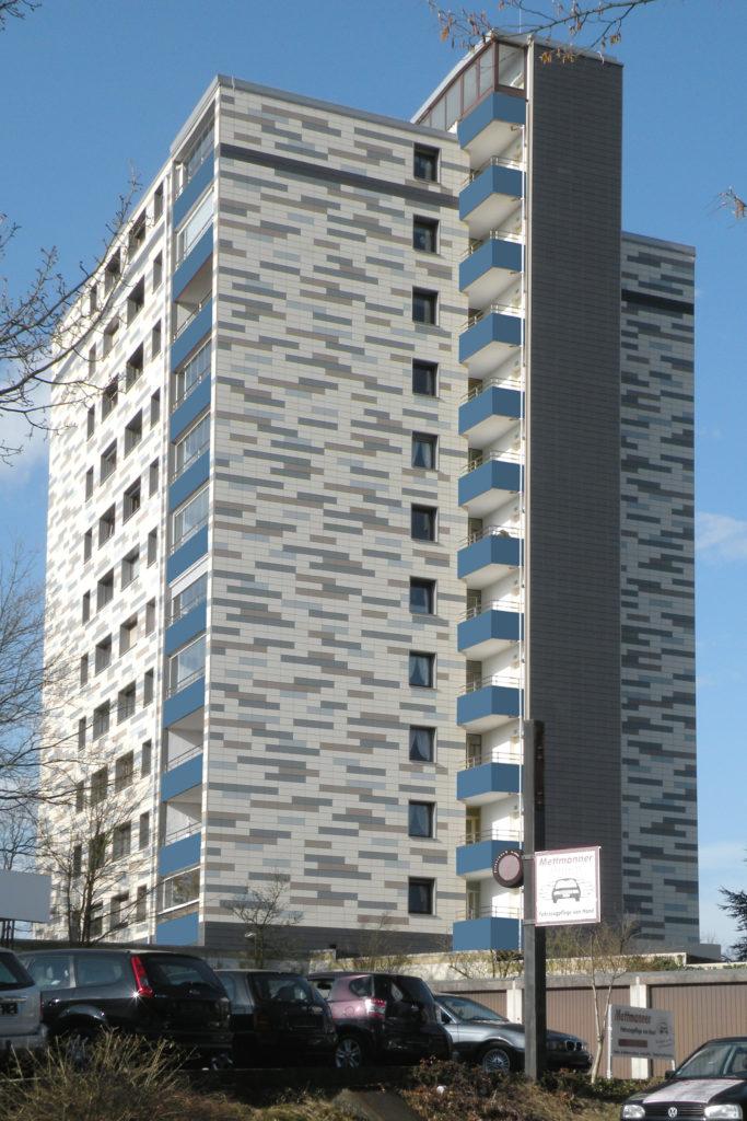 Fassadensanierung Hochhaus 1