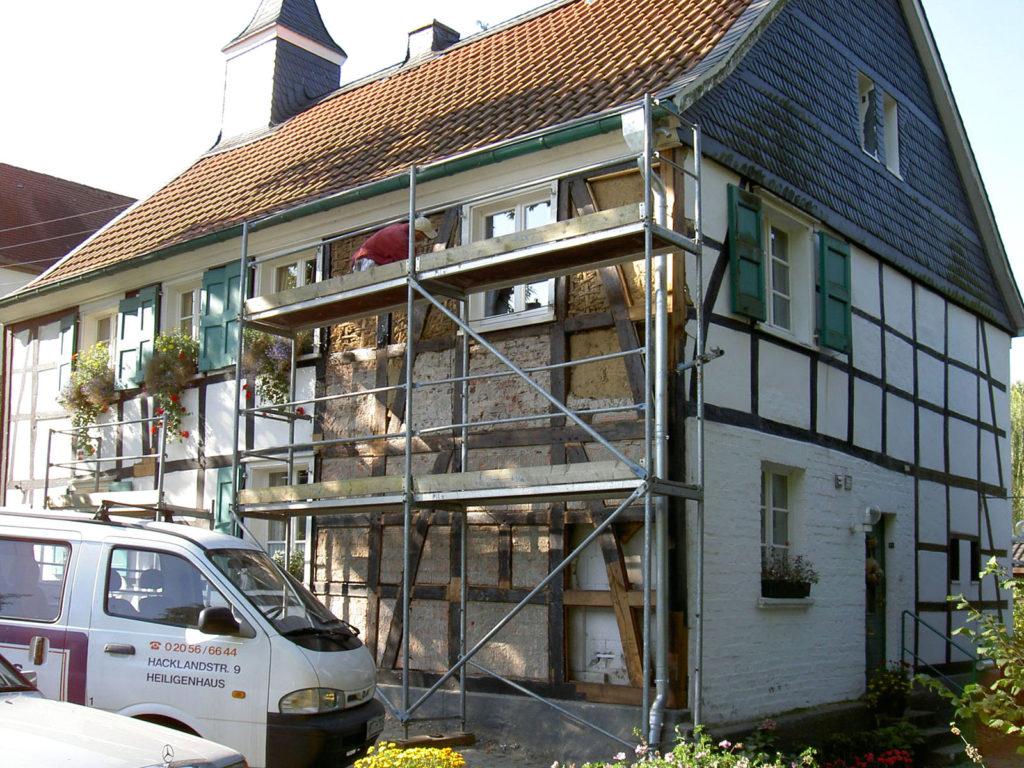 Sanierung Fachwerkfassade 3