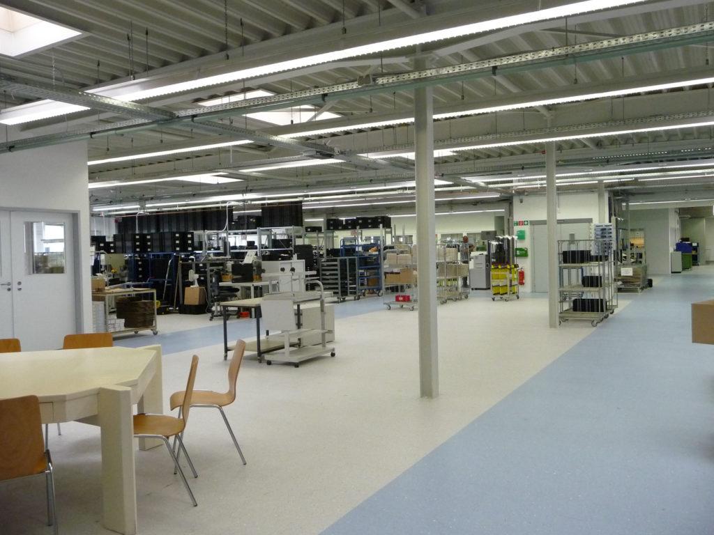 Erweiterung Produktionshalle Horstmann GmbH 2