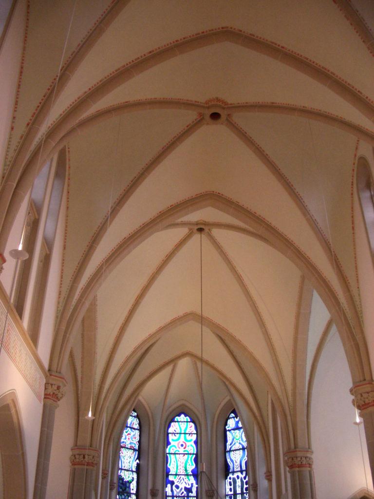 Innenputzsanierung Pfarrkirche St. Suitbertus 2