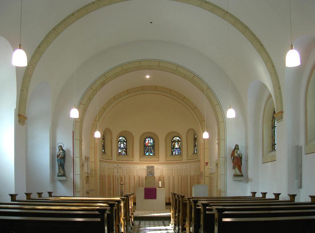 Sanierung Kapelle 0