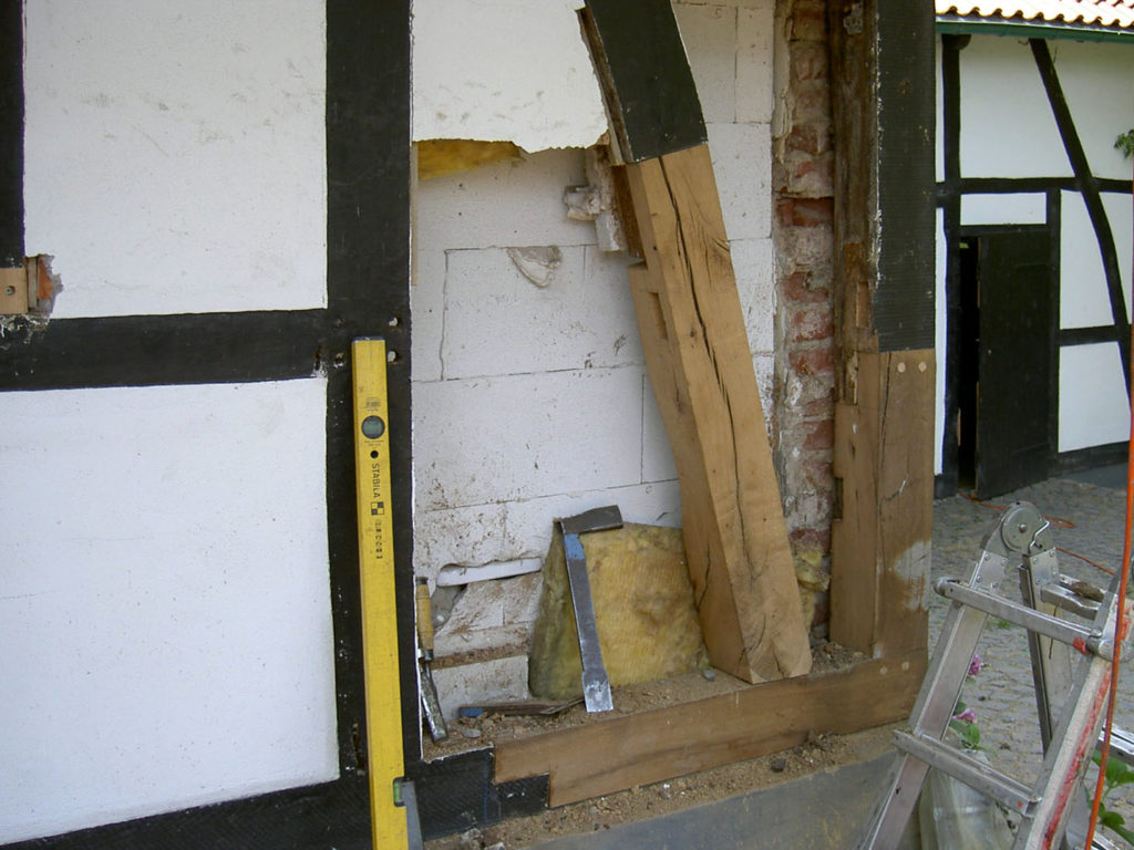 Sanierung Fachwerkfassade 4