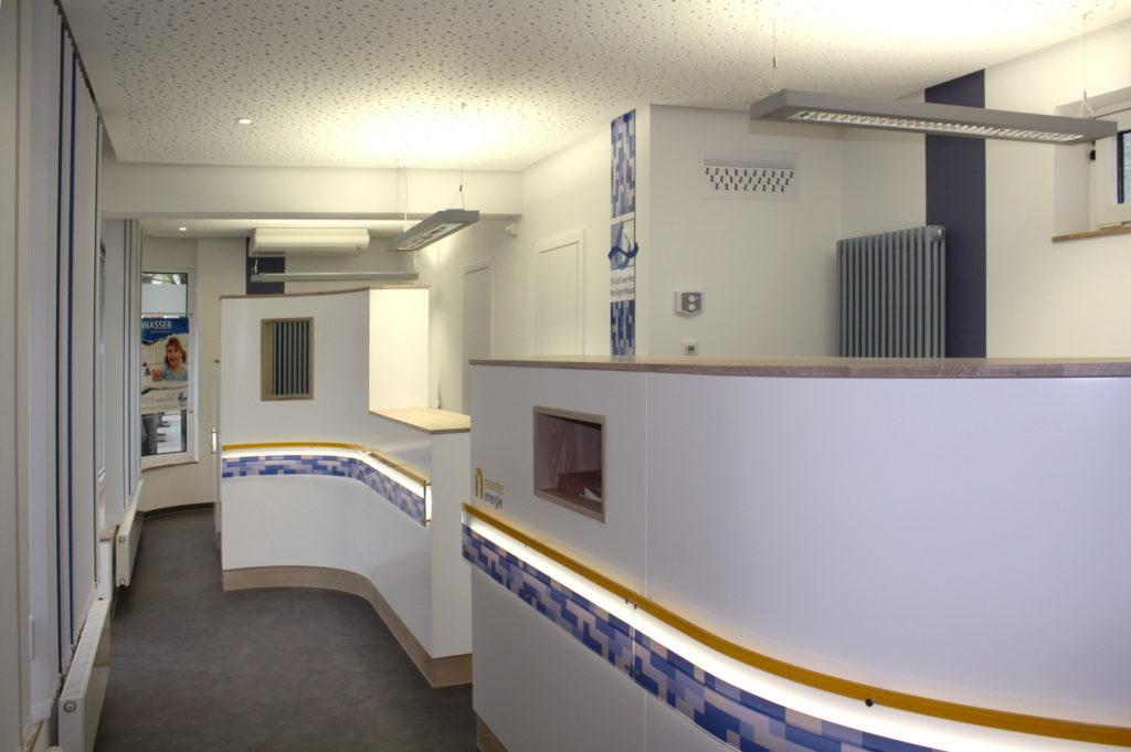 Umbau Kundencenter 4