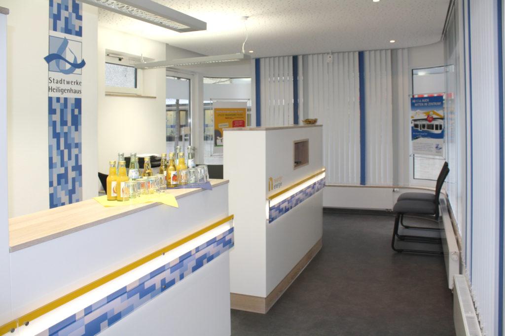 Umbau Kundencenter 5
