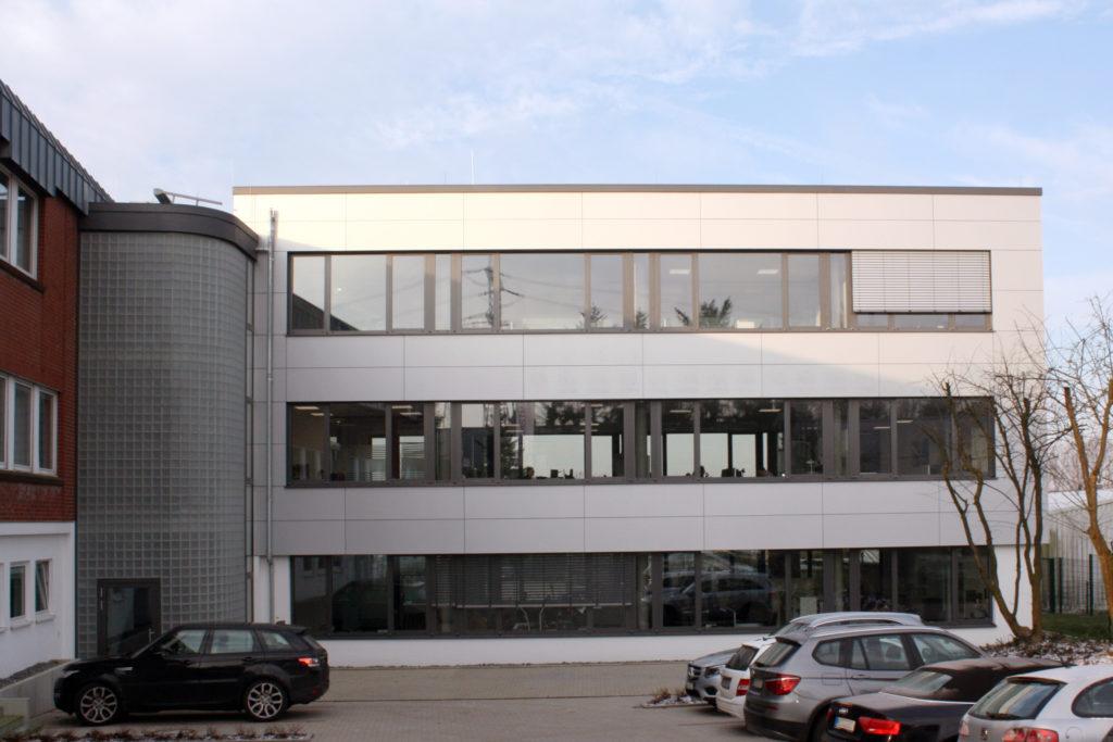 Anbau Bürogebäude Horstmann GmbH 1