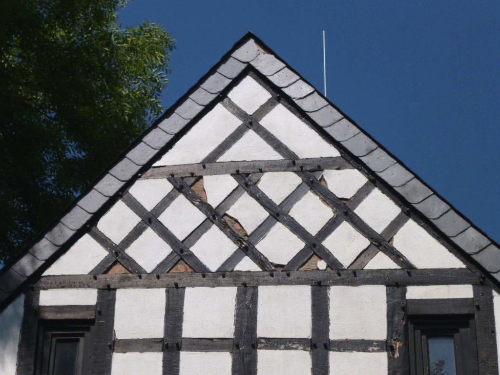 Fassadensanierung Fachwerkhaus 1