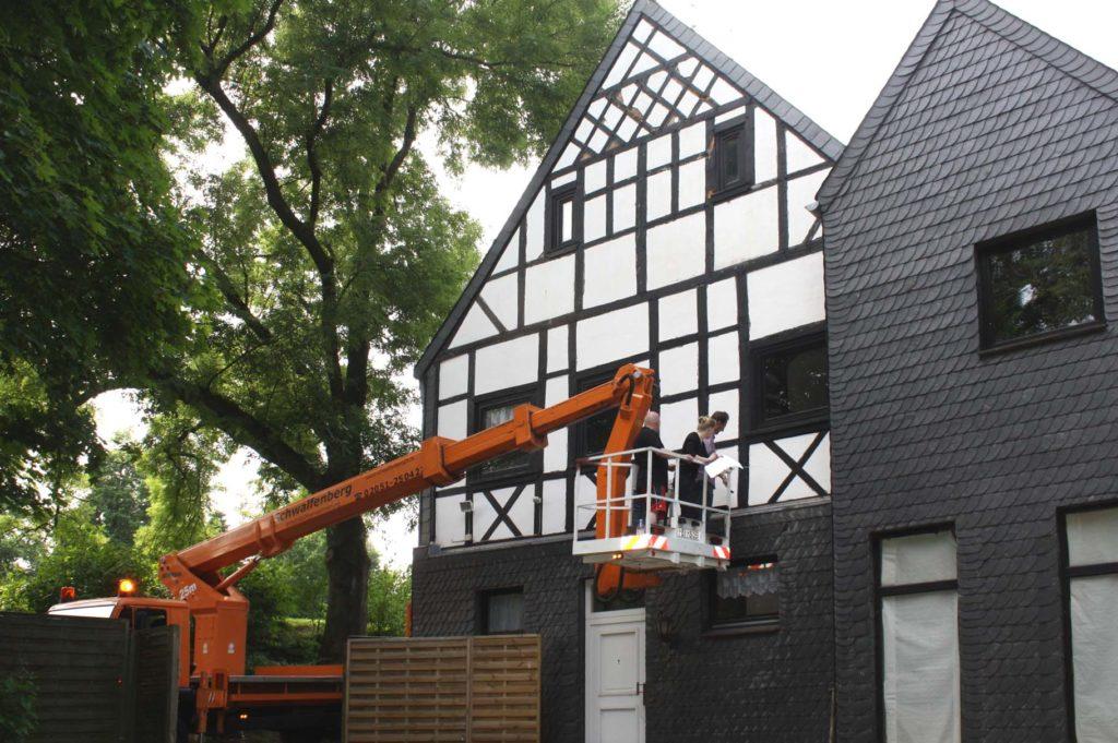 Fassadensanierung Fachwerkhaus 3