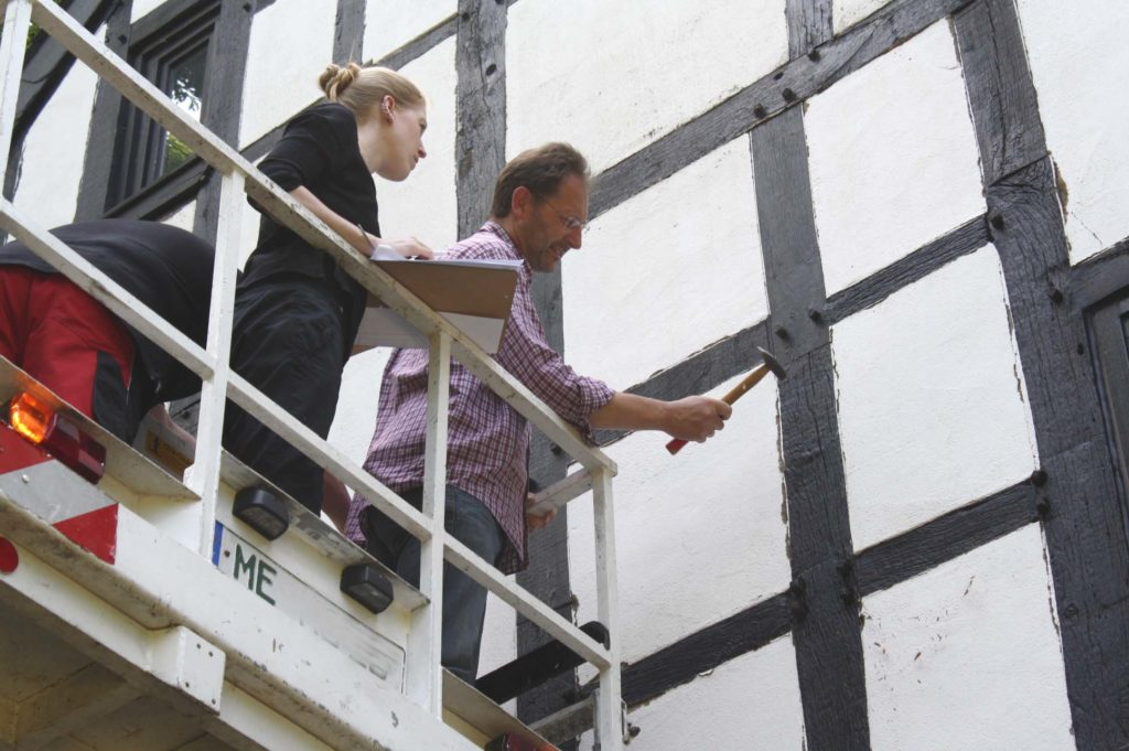 Fassadensanierung Fachwerkhaus 2