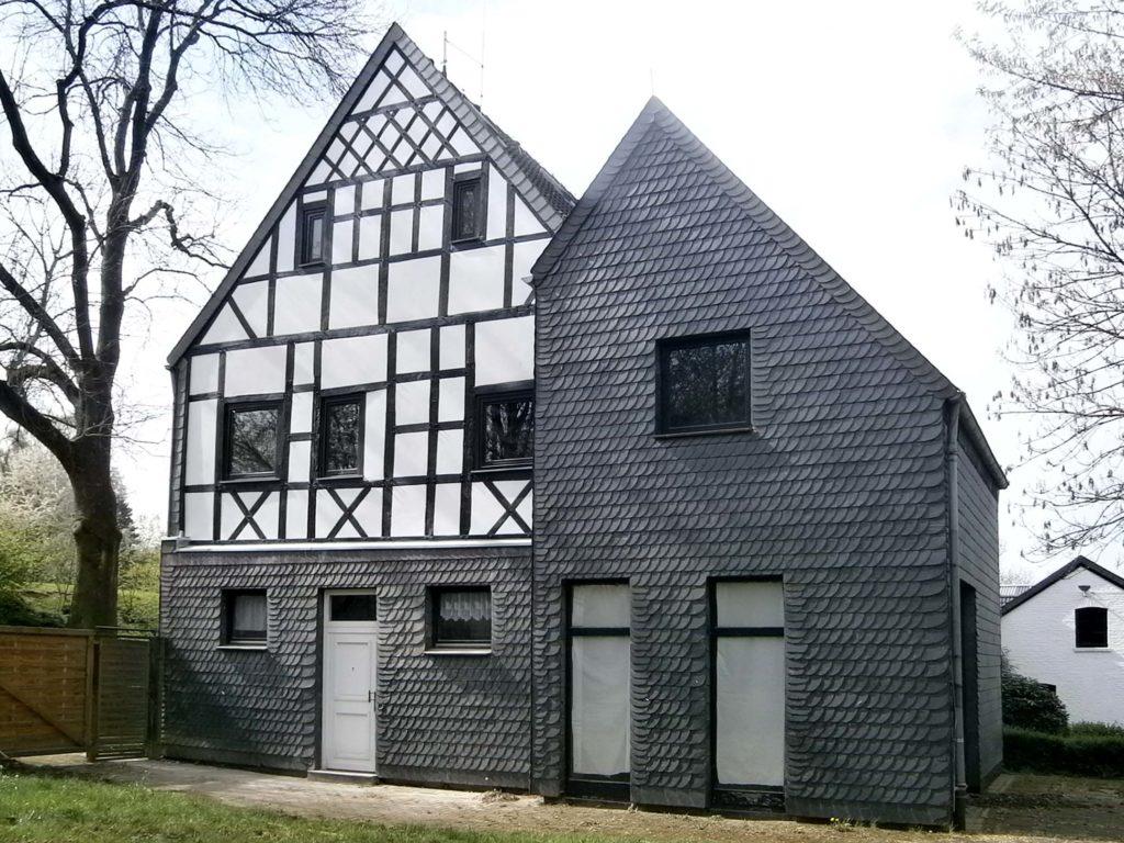 Fassadensanierung Fachwerkhaus 0