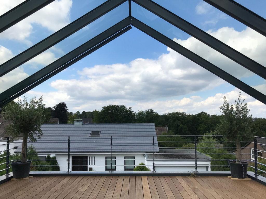 Erstellung Dachterrasse 2